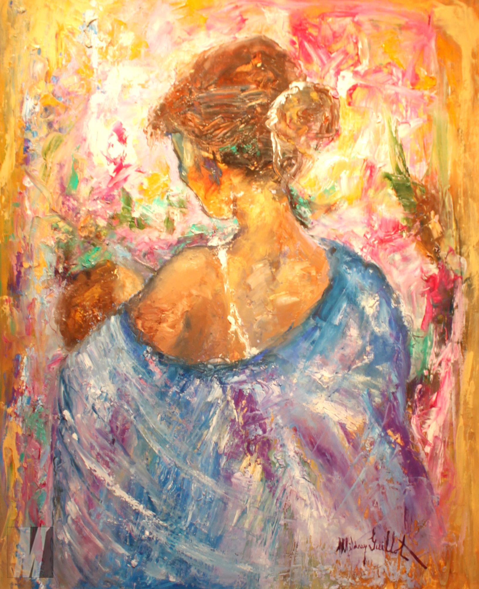 MotherChild_20x24_OilCanvas