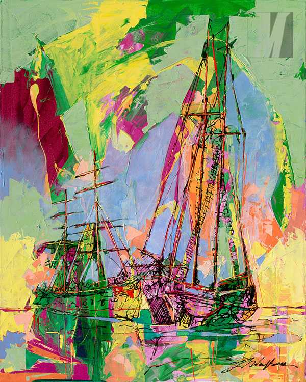 Sailboat-In-the-Spring